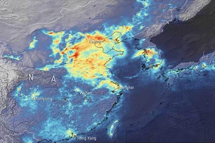 کرونا باعث کاهش بالای انتشار دی اکسید کربن شد