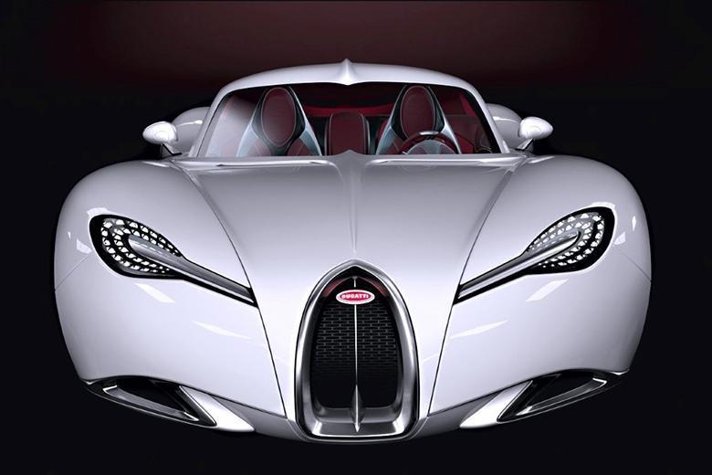 این خودروی مفهومی بوگاتی هر دو حس کلاسیک و مدرن را با هم دارد (گالری عکس)