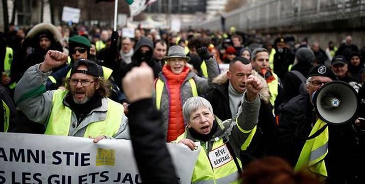 جلیقه زردهای فرانسه بی توجه به هشدارها به خیابانها بازگشتند