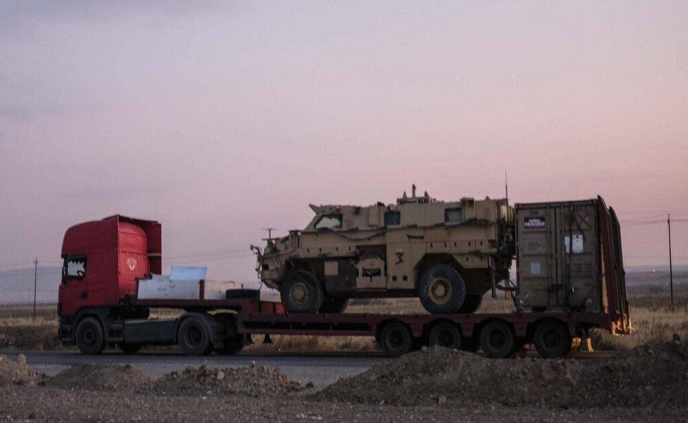 آمریکا ادوات جنگی در عراق را به سوریه منتقل کرد