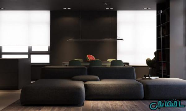 ایده های استفاده از رنگ تیره در طراحی خانه مدرن
